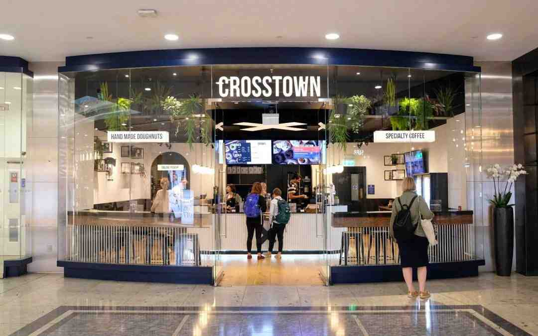 CROSSTOWN OPENS IN CANARY WHARF