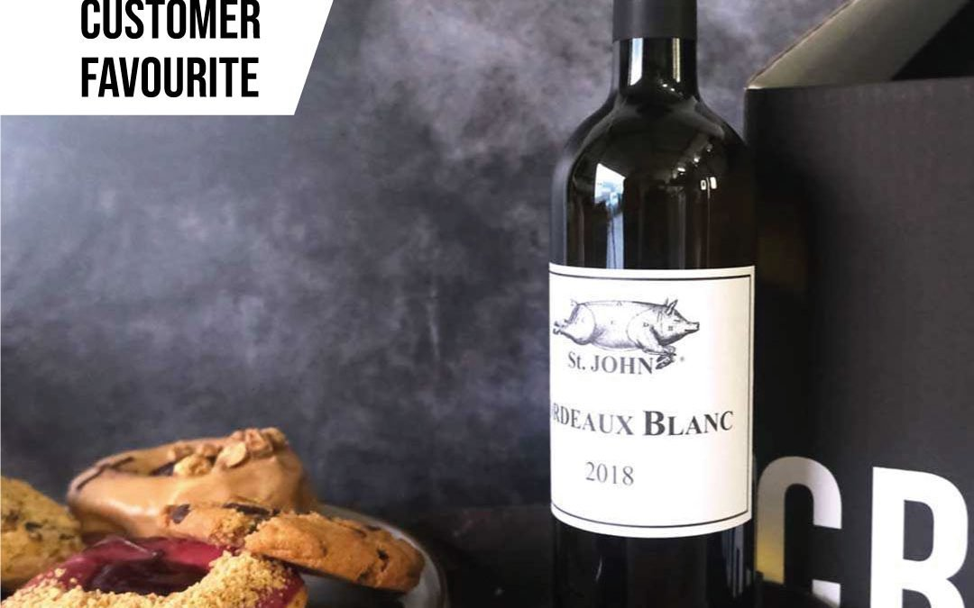St. JOHN Wines Bottled Wine + Doughnuts or Cookies Gift Box