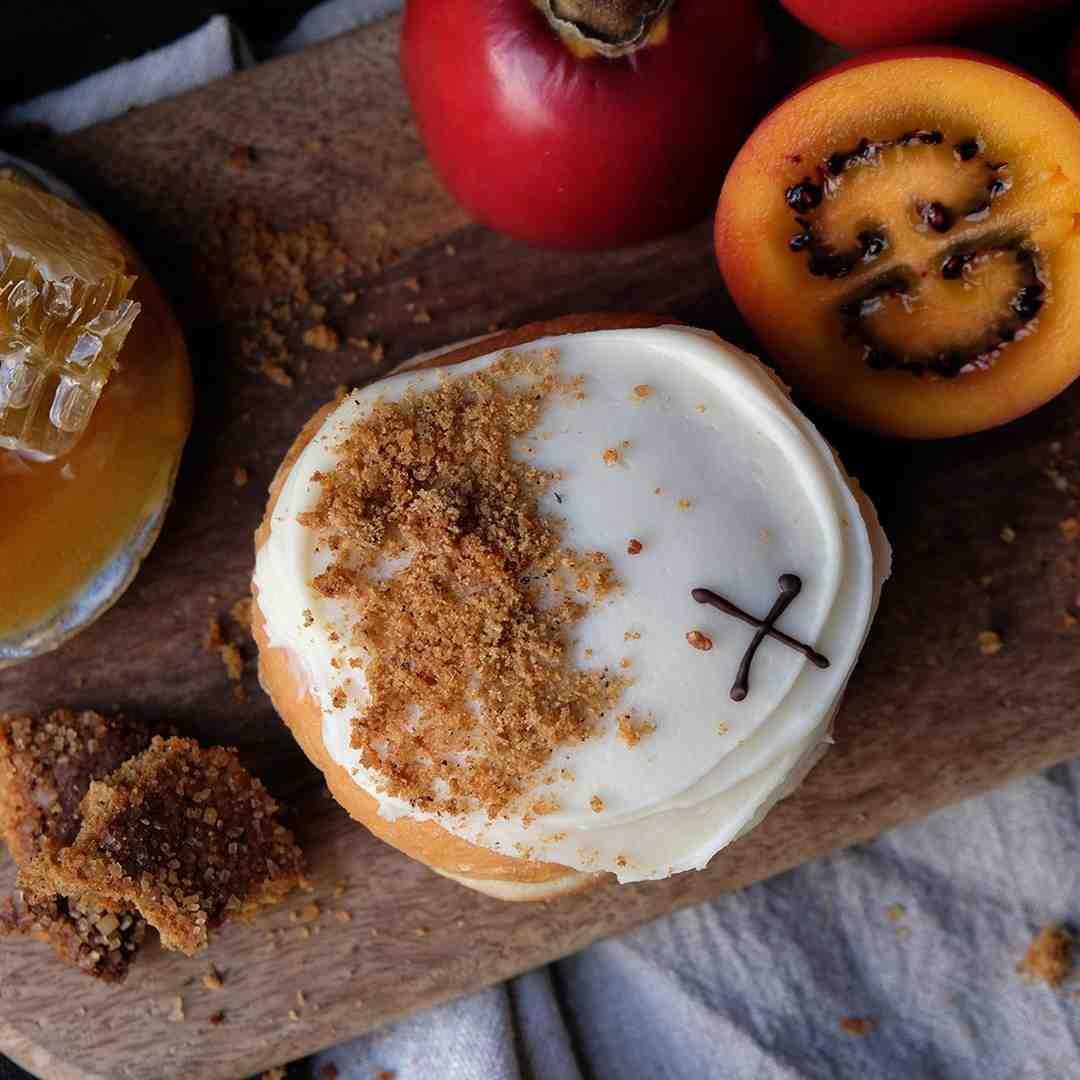 Tamarillo & Apple Waitangi Day Doughnut
