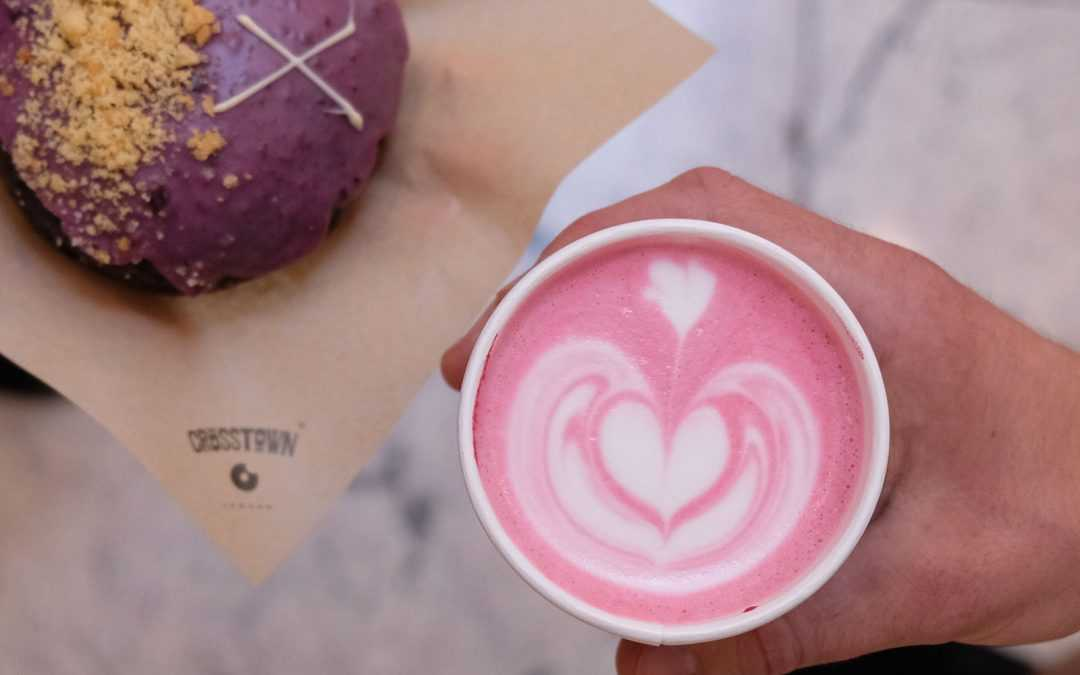 CROSSTOWN DEAL OF THE DAY: A DOUGHNUT & SPECIALTY DRINK FOR £4.50 THROUGHOUT SEPTEMBER