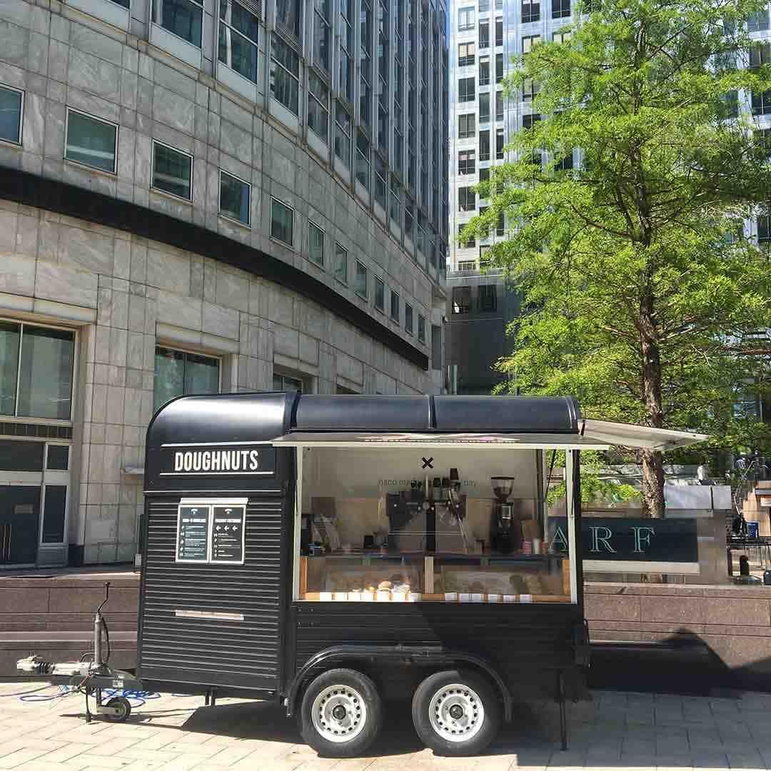 Crosstown Canary Wharf truck 1