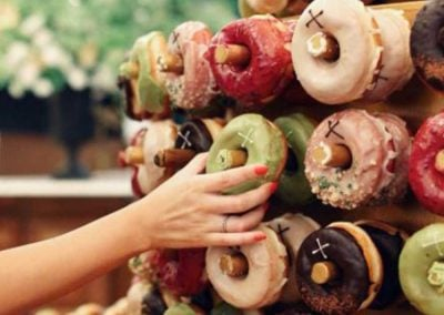 Crosstown our doughnut wall