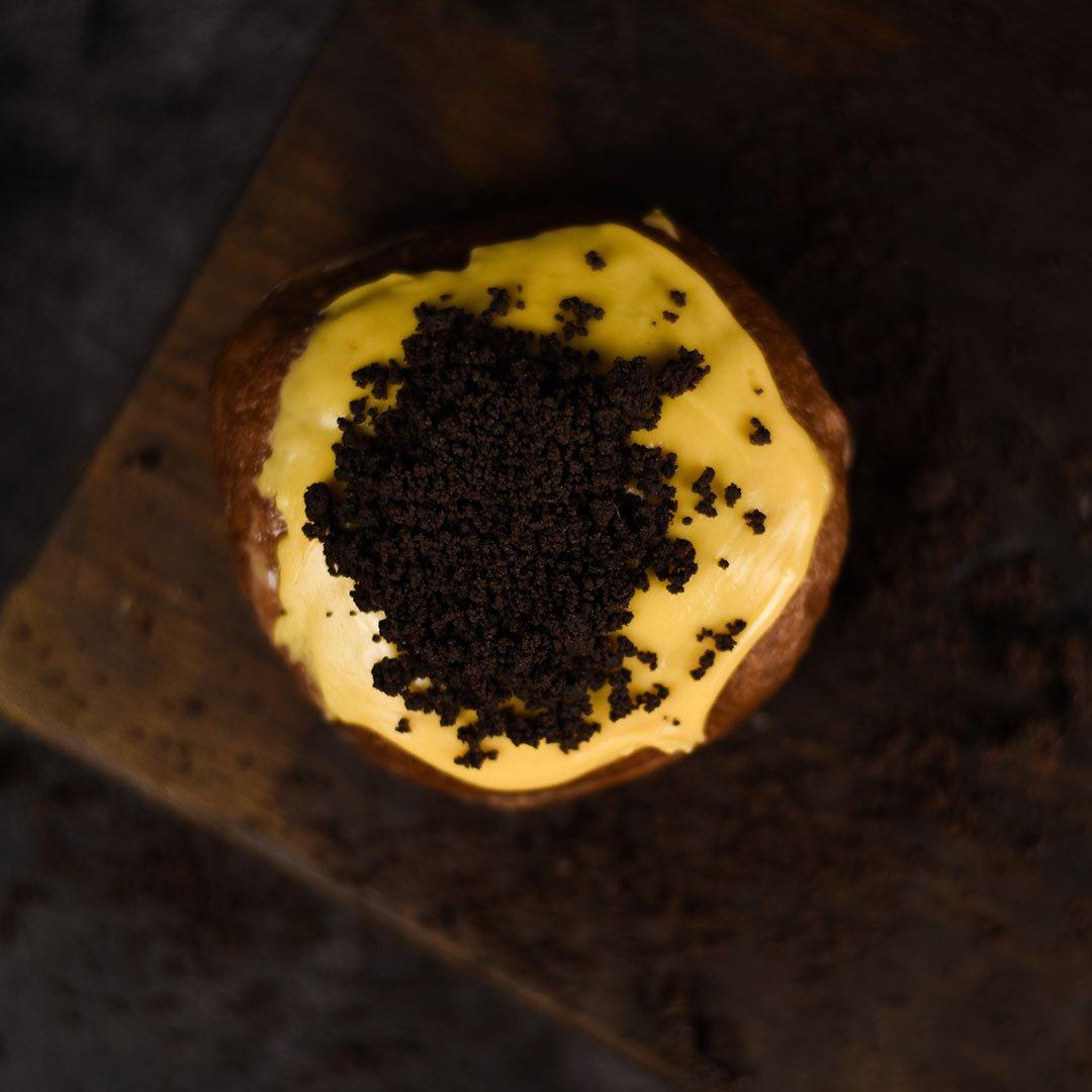Sea Salt Caramel & Banana Cream | Doughnuts | Crosstown 3