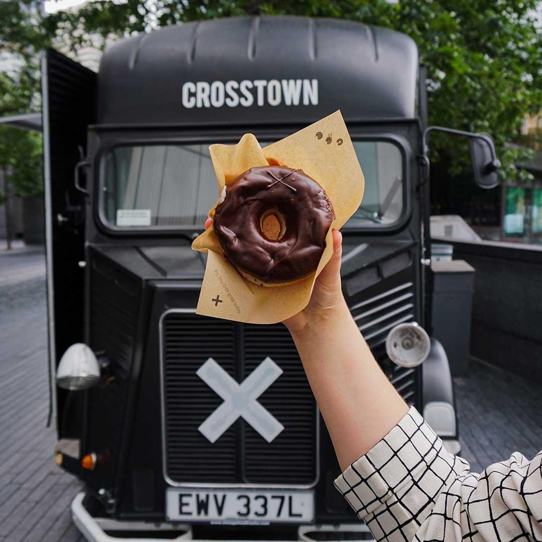 London Bridge   Dark Chocolate Truffle   Doughnuts   Crosstown 02