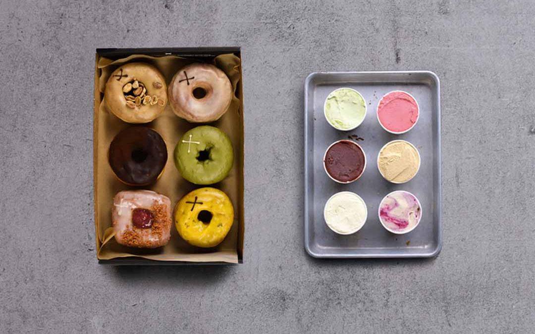Ice Cream & Doughnuts Gift Box