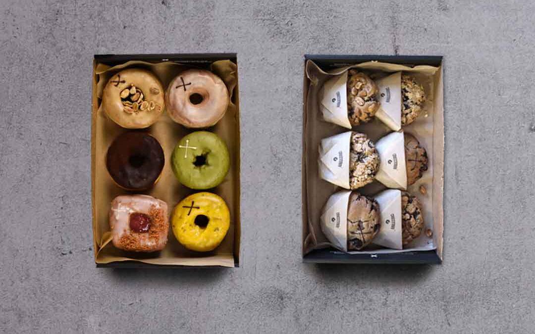 Six Doughnuts + Six Cookies