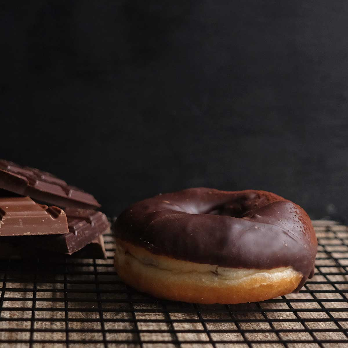 Chocolate Truffle Doughnut