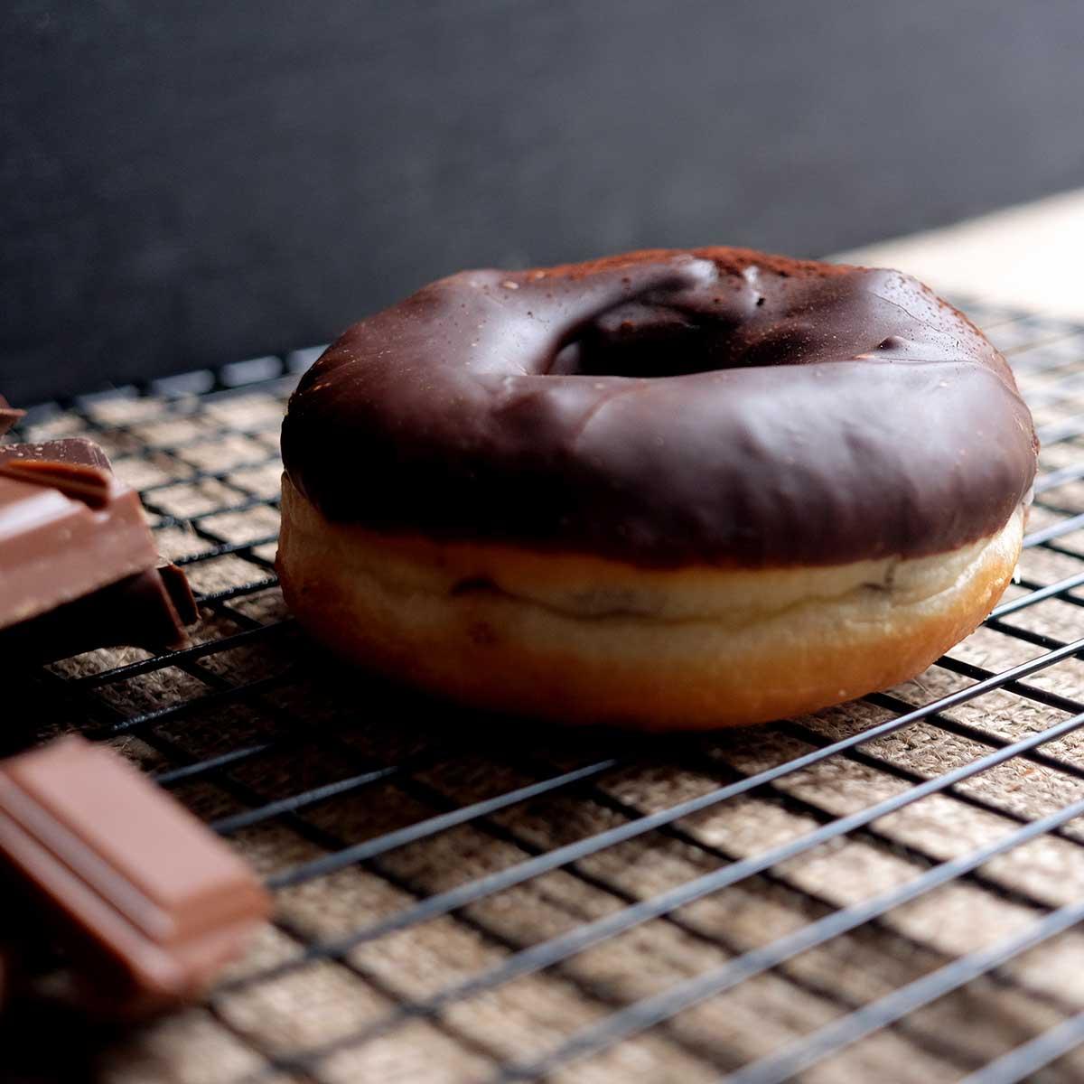 Crosstown Doughnuts Chocolate Truffle Ring