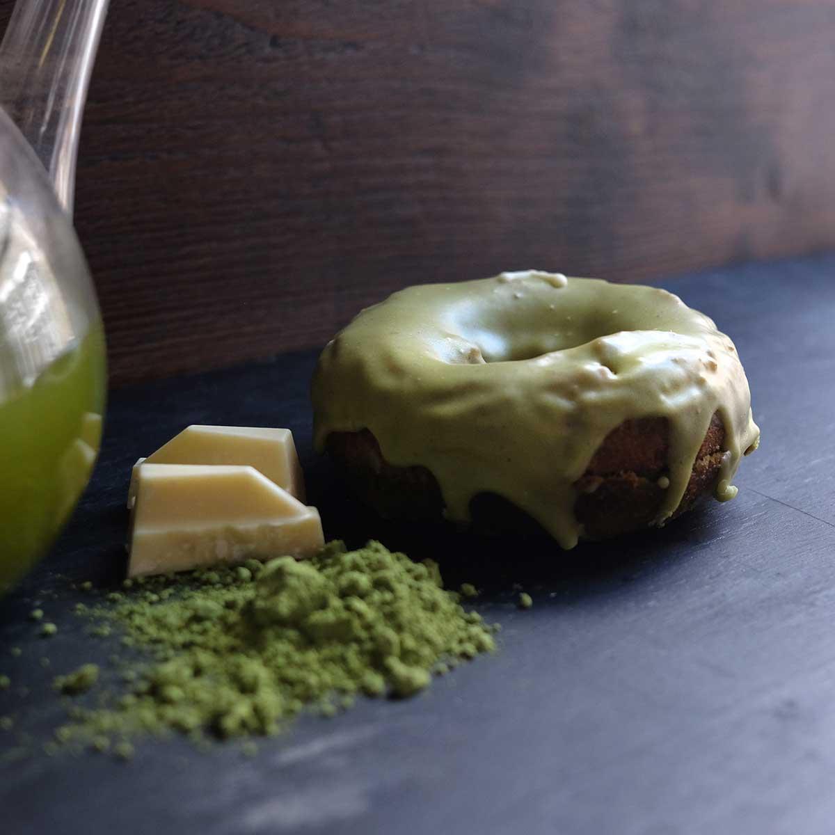 Matcha Tea Doughnut