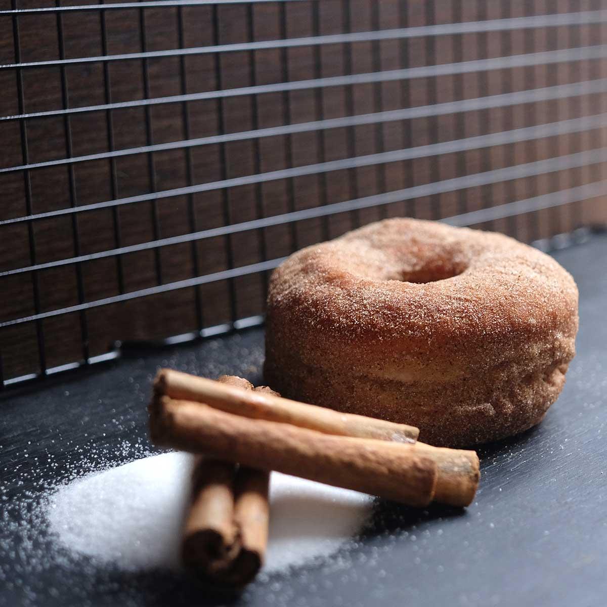 Crosstown Doughnuts Cinnamon Sugar