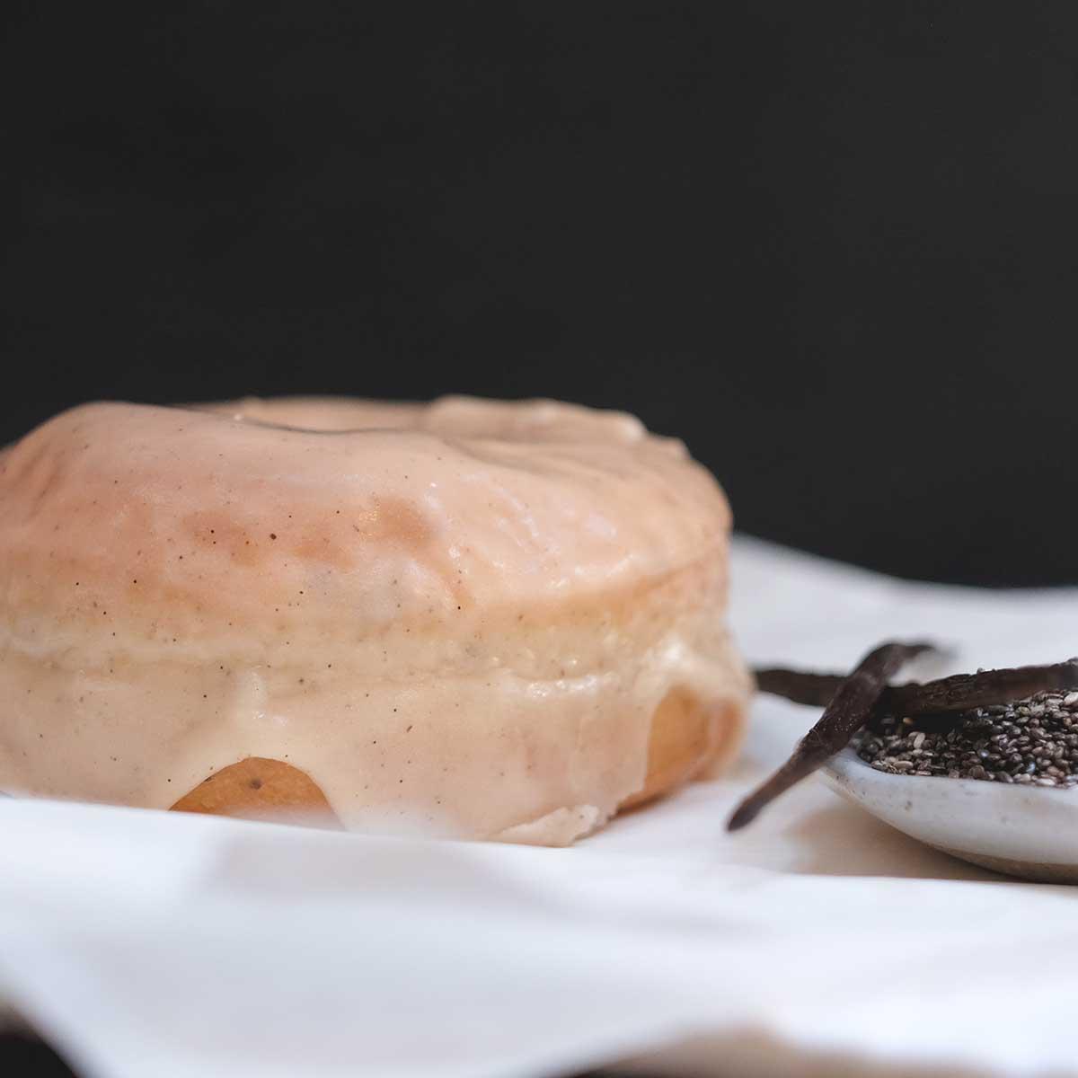 Vanilla Glaze Ring Doughnut