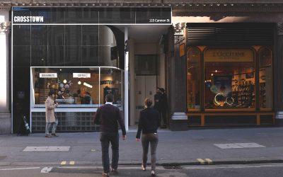 CROSSTOWN OPENS IN CITY OF LONDON
