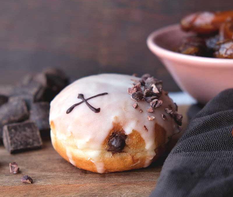 Chocolate Medjool Date Dough Bite
