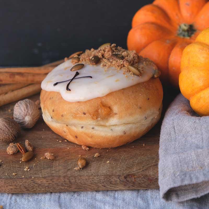 Spiced Pumpkin Doughnut