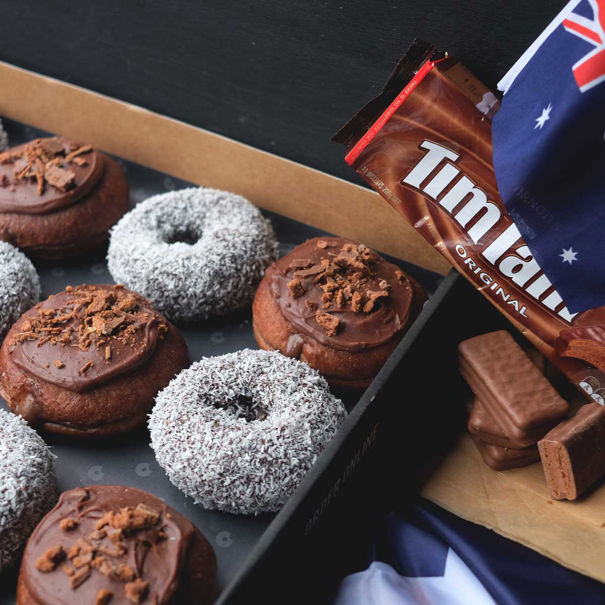Australia Day Box Tim Tam Lamington