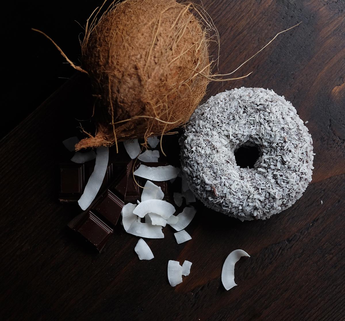 Lamington Lamnut Doughnut