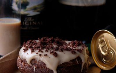 GUINNESS & BAILEYS ST. PATRICK'S DAY DOUGHNUTS