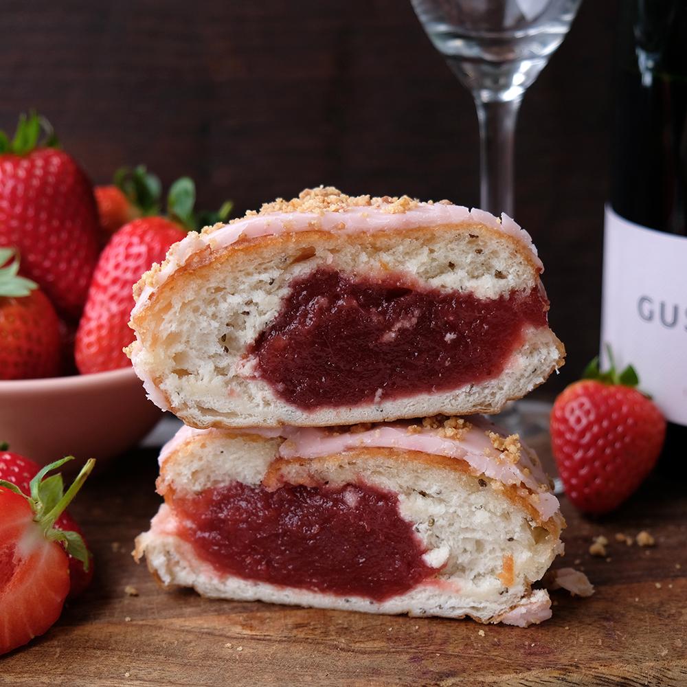 Vegan Strawbery & English Sparkling Rosé