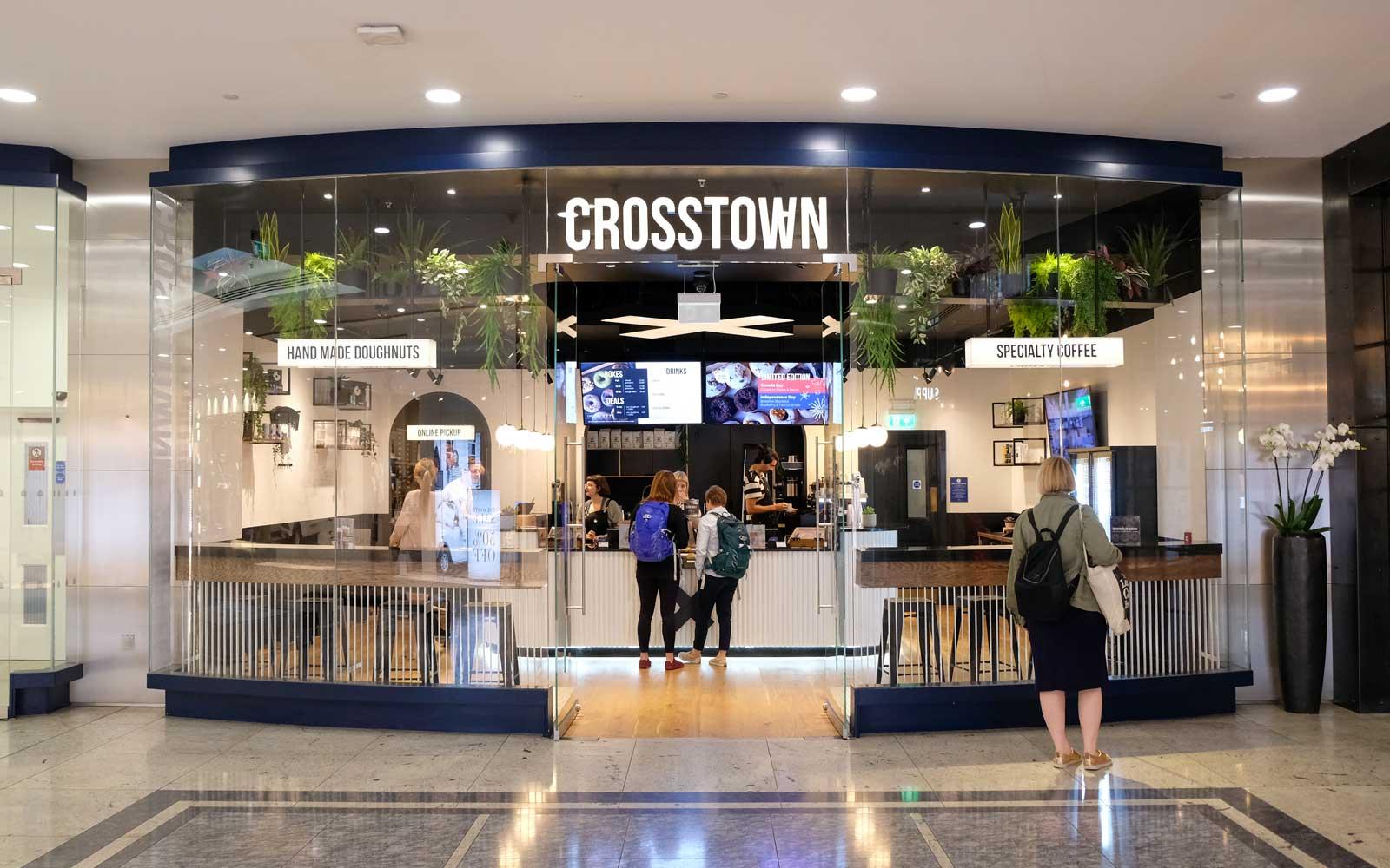 Crosstown Doughnuts & Coffee at Canary Wharf