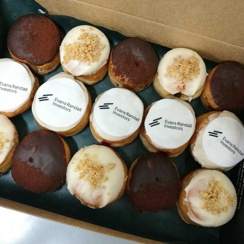 Business Branded doughnuts