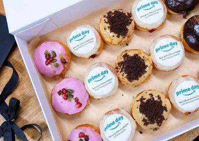 Amazon Primeday branded doughnuts selection