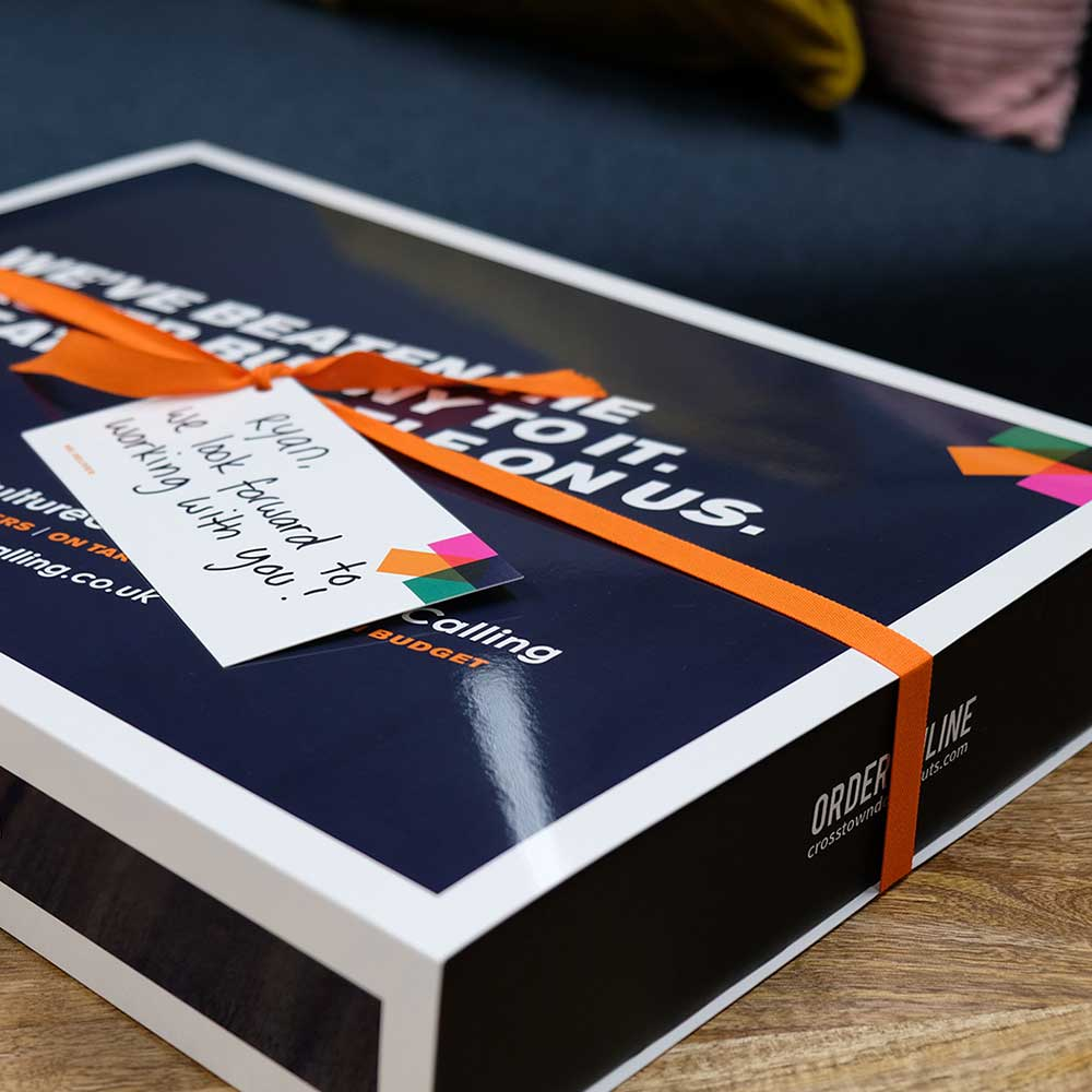 A company gift of doughnuts for a new employee