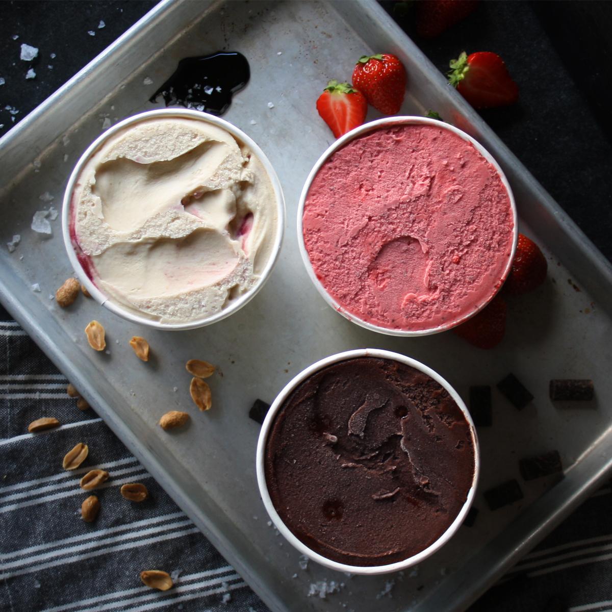 Crosstown Ice Cream Trio Selection