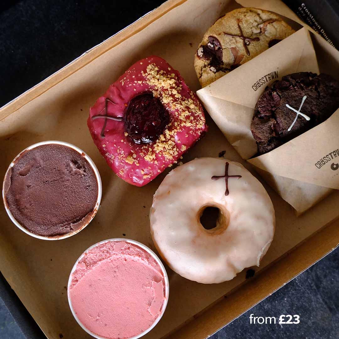 Selection Box – Doughnuts, Cookies & Ice Cream