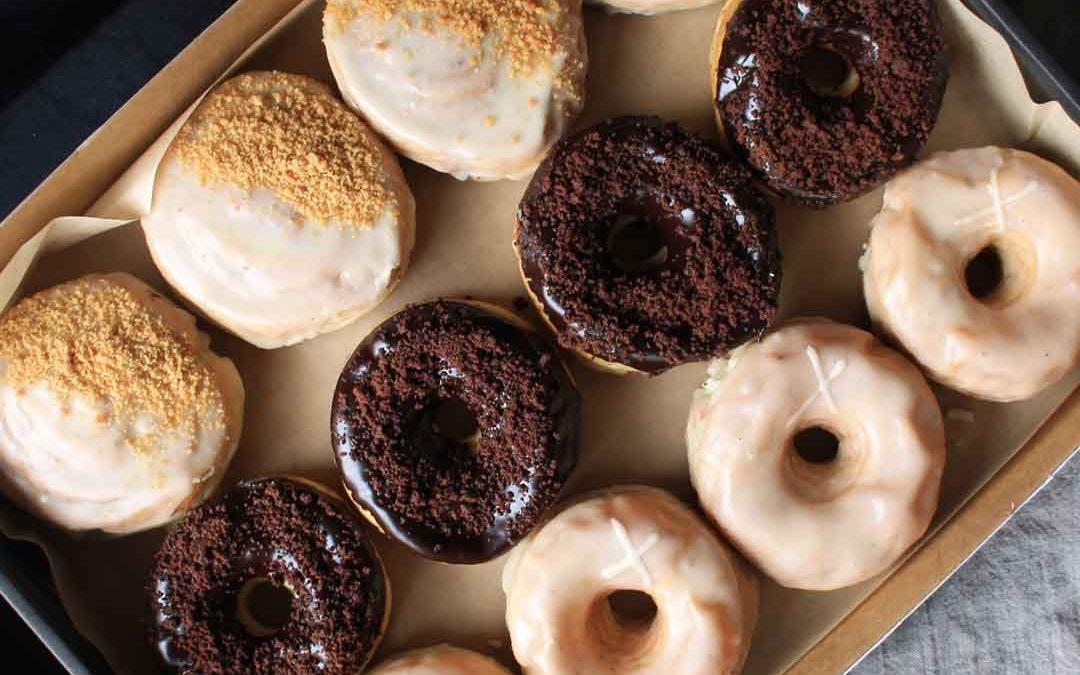 Sourdough Doughnut Selection (ve)