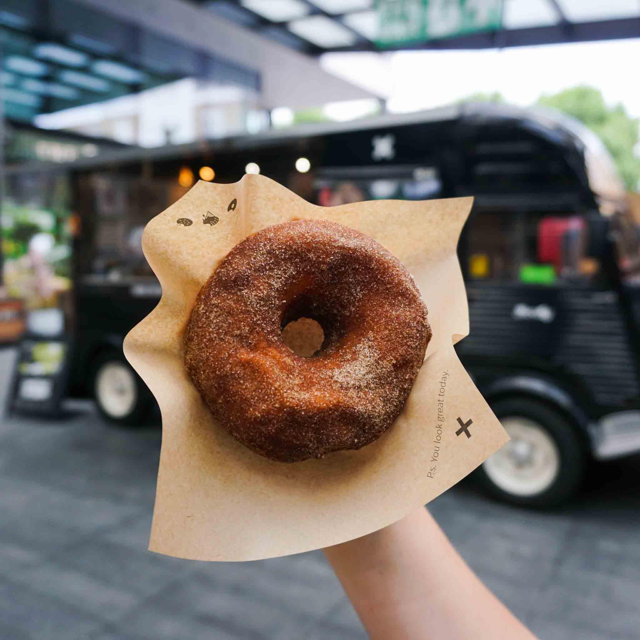 Crosstown Spitalfields truck doughnut